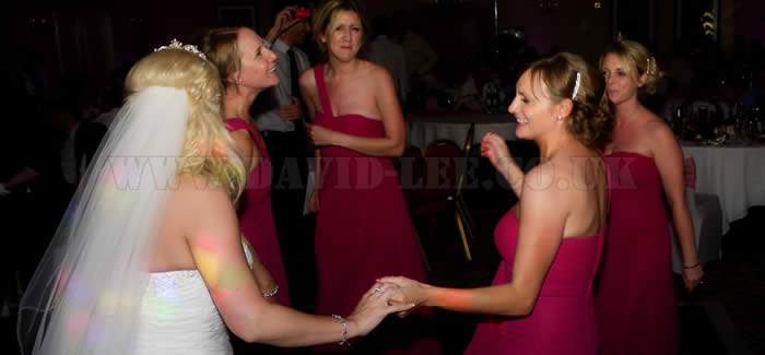 Bride & bridesmaids in Preston