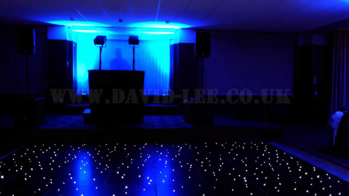 Up-lighting and Dancefloor Hire at Buile Hill Park