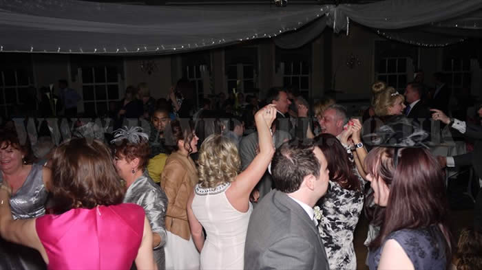 CHeshire DJ Wedding