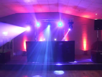 School Disco, prom and ball set-up in the manchester area