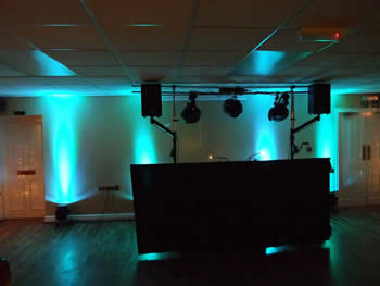 Green venue lighting