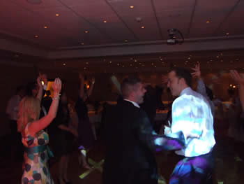 Marriott Hotel Worsley, party is going strong here