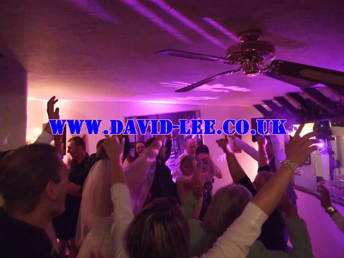 David Lee, Wedding DJ, More people enjoying themselves with me hard at work again!!!