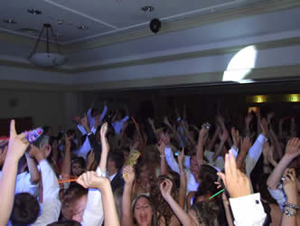 School Prom, Hands in the air and Eveyone say hoooooooooooo