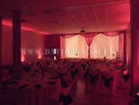 red venue lighting in Chill factor
