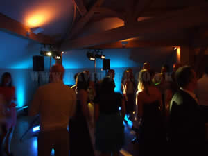 white hart with micor venue lighting package