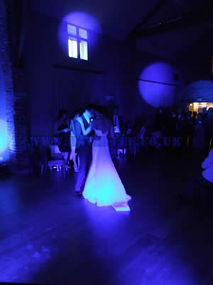 wedding first dance at Arley Hall.