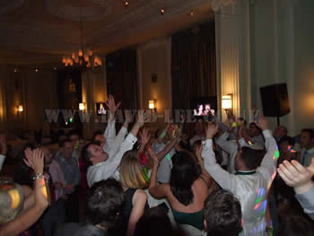 Still hands in the air at Midland Hotel Manchester