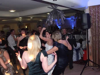 Bride dancing to the wedding dj at Dukinfield Golf Club