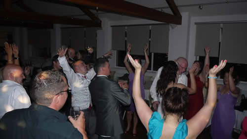 Milnrow Wedding DJ AT Bellavista