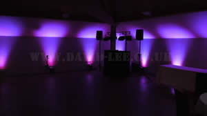 White hart,oak room with Mini venue lighting option