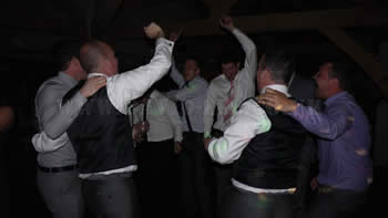 The stags having a dance at the white hart