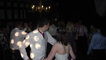 Bramall Hall DJ for a wedding