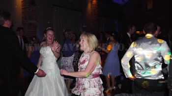 Bride still dancng at Arley Hall