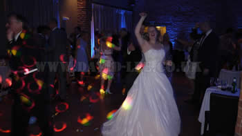 Bride Dancng at Arley Hall all night long