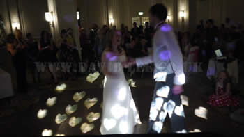 Midland Hotel Bride & Groom daning to their first Dance song