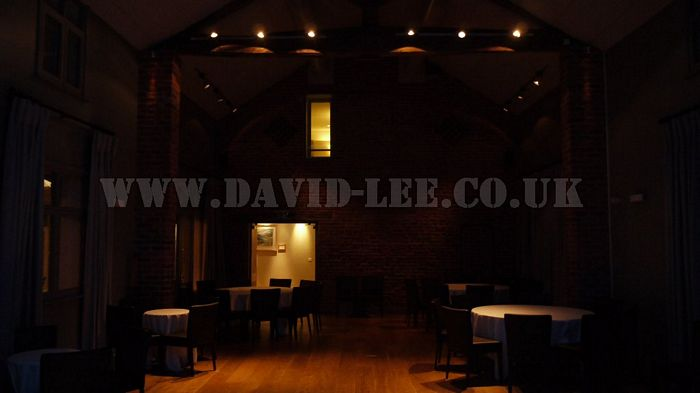 Arley Hall with no venue uplighting
