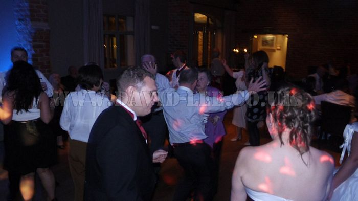 Arley Hall  wedding dj with a full dance floor